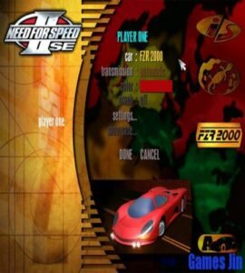 need for speed 2 game free for pc game compressed